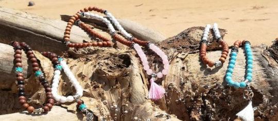 bijoux en pierres naturelles.